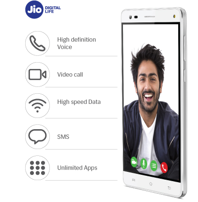 Enjoy unlimited 4G with Reliance Jio