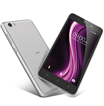 Lava X81 - The gorgeous design of X81 has a 2.5D curved display
